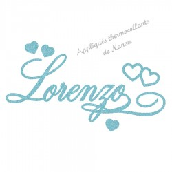 Doudous et v tements b b s et enfants brod s artisanalement nanou cadeaux - Lorenzo prenom ...