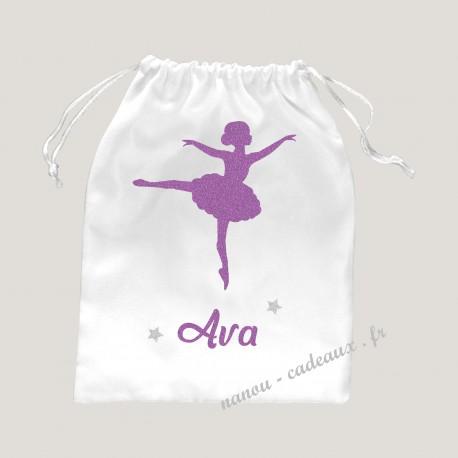 Petit sac personnalisée danseuse étoile