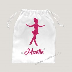 Petit sac personnalisée petite danseuse