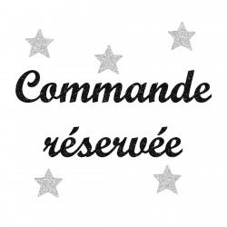 Commande réservée Marius